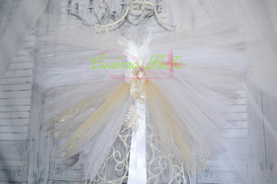 Handmade In New Zealand Foam And Tulle Wings Cadenza
